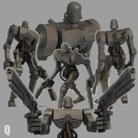 BADBOT in 3D by QUICKMASTER