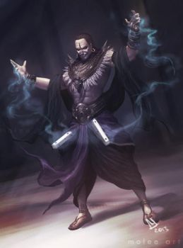 Shakuni - The Sorcerer King of Gandhara by molee
