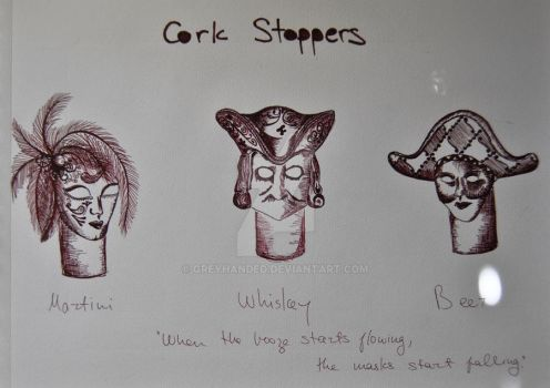Cork Stoppers by Greyhanded