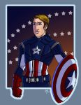 Captain America by MelZayas