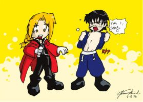 Roy Mustang drank too much by CelesJessa