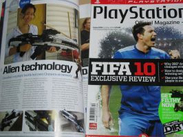 Playstation UK Mag. by Hyokenseisou-Cosplay