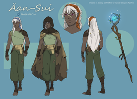 Aan - Sui || Character design commission by Ellie-Commissions