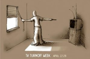 TV Turnoff Week by JoshMLange