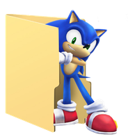 Sonic Folder Icon by Hinatka3991