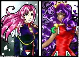 Utena to Anthy by TonomuraBix