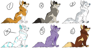 10 point wolf adopts by BlueEyesAdopts