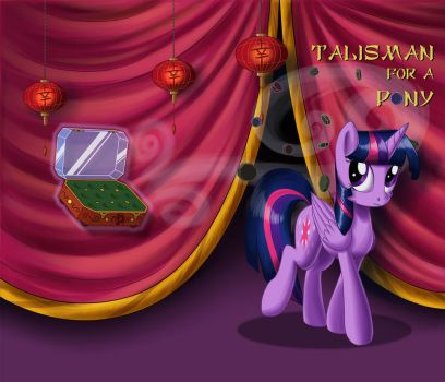 Talisman for a pony: Cover by Sirzi