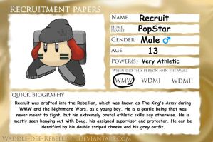 Recruitment Papers - Recruit by Slayer-of-Eternity