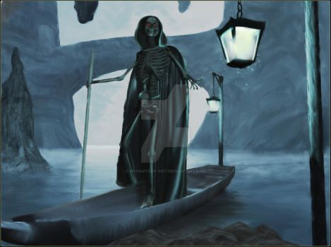 Time to Pay the Ferryman by 3D-Fantasy-Art