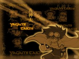 V-Tamer Taichi Wallpaper Gold by c-sacred