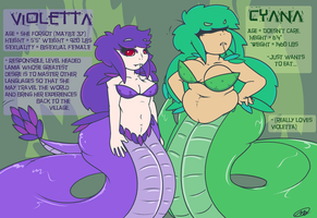 Violetta and Cyana Reference by Axlwisp