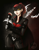Bat Vayne by Darkness-Fallen