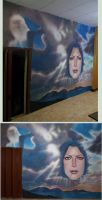 I F I H - mural - two views by AlMaNeGrA