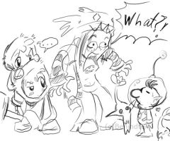 Olimar is in Brawl? by TamarinFrog