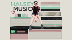 DESIGNS // halseymusic.blog.cz by victoriaharin