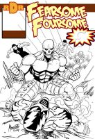 fearsome foursome cover wip2 by gammaknight