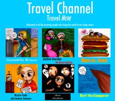 Travel Channel Shows by GothicDancer
