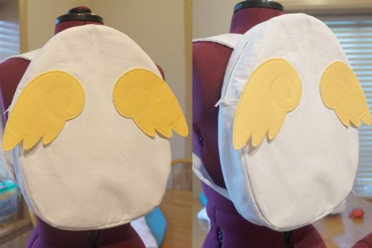 Sakuras Egg backpack from CardCaptor Sakura by feboee