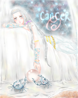 Cancer ~ by StarCrescent