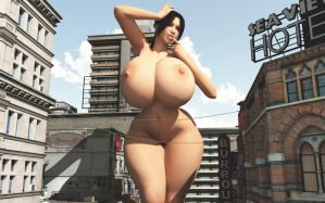 Vue giantess 77: Play it big! by nyom87