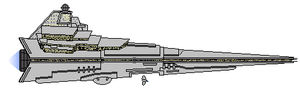 Star Wars KDY Javelin-class Star Destroyer by Seeras