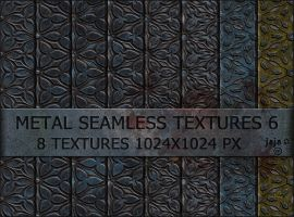 Metal seamless textures 6 by jojo-ojoj