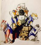HATAKE KAKASHI AND HIS NINJA DOGGIES by animalzamzam