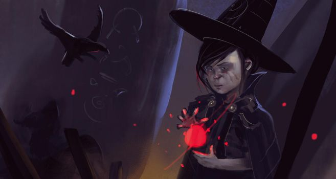 Witch child by Eaworks