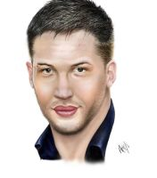 Tom Hardy by pillowpet1997