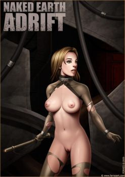 Naked Earth Adrift intro pinup by Ferres