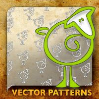 Vector Patterns. my sheep by paradox-cafe
