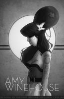 Amy Winehouse by WScottForbes