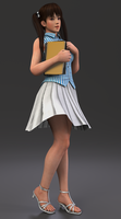 Dead Or Alive 5 Ultimate Lei Fang - RENDER 14 by Dizzy-XD