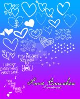 Love brushes by londinesa