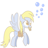 Derpy Hooves by The-Sliver-Stars
