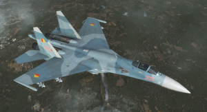 Su-27 - Yuktobanian Air Force by Jetfreak-7