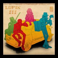 Lupin III cover by Inkthinker
