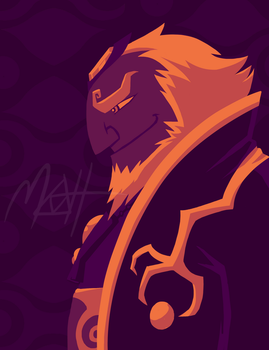 Ganondorf by colourmefred