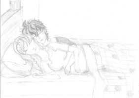 Sleeping Couple by mithua