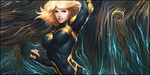 Signature: Black Canary Smudge by HappyFaceStar