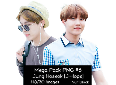 Mega Pack PNG #5 - J-Hope by YuriBlack
