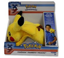 Tomy - Pokemon Trainer's Pikachu by ryanthescooterguy