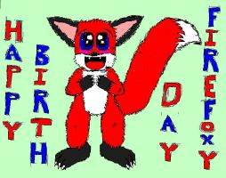 Hapy B Day FireFoxy q: by Stvalbert