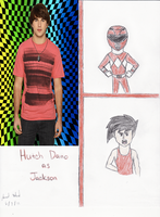 Hutch Dano as Jackson by Jred20