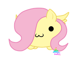 Fluttershy is blob by Fluttertroll