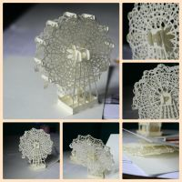 Ferris Wheel Kirigami by Buujang