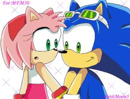 Sonamy Riders-:formfm50:- by PetitMoon5