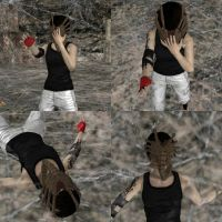 Faith Facehugged (Collage 1 of 2) by 88RAven