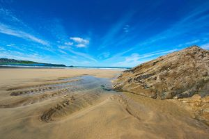 Fistral Beach Rock Pool by 06footnerc